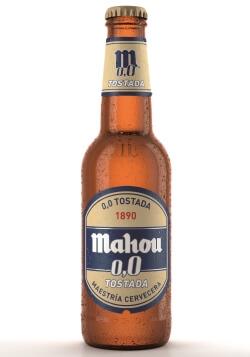 Mahou vuelve a innovar lanzando Mahou 0,0 Tostada