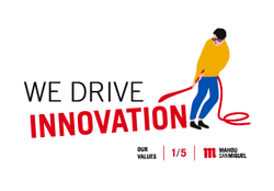 We drive innovation